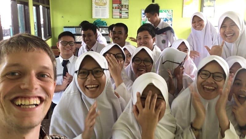 Soziales Projekt Indonesien